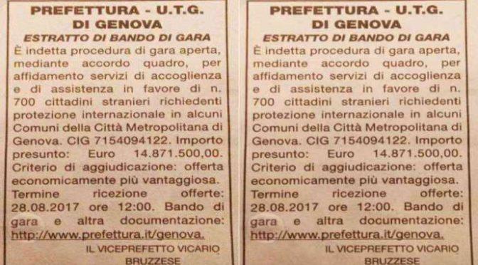 Genova, Prefetto senza vergogna: 15 milioni di euro per dare casa a 700 Africani