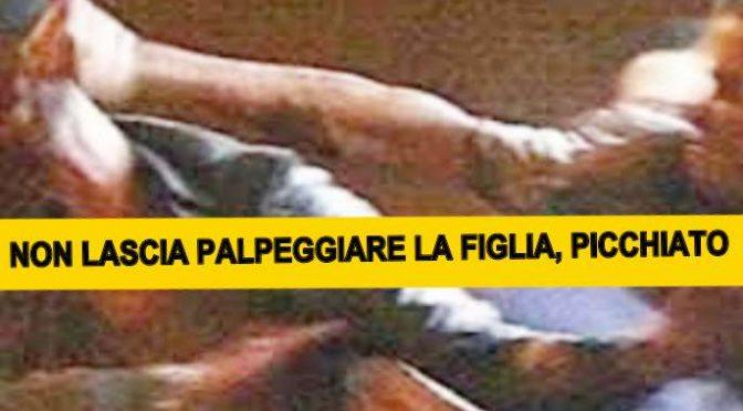 CHIEDE A IMMIGRATI DI NON PALPEGGIARE SUA FIGLIA, PESTATO