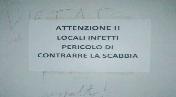 ROMA, SCABBIA IN UFFICI COMUNALI DOPO SOSTA MIGRANTI – FOTO
