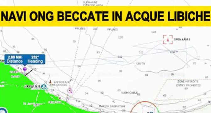 *DEFEND EUROPE SORPRENDE NAVI ONG IN ACQUE LIBICHE*