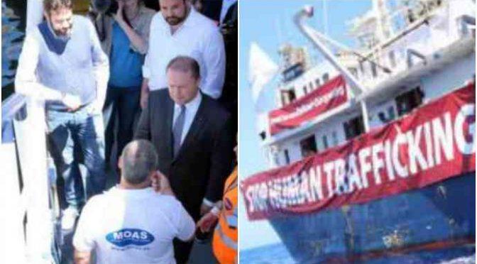 Malta rifiuta acqua e viveri a nave anti-Ong, ordini dei Catrambone?