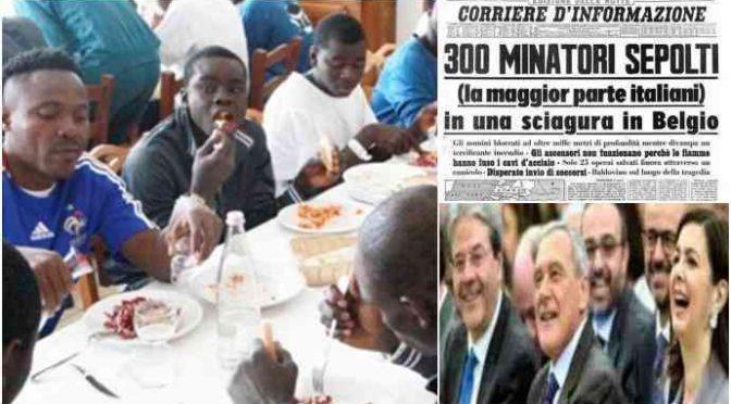 """BOLDRINI TORNA A SACCHEGGIARE LE TOMBE DI MARCINELLE: """"DEMAGOGHI"""""""