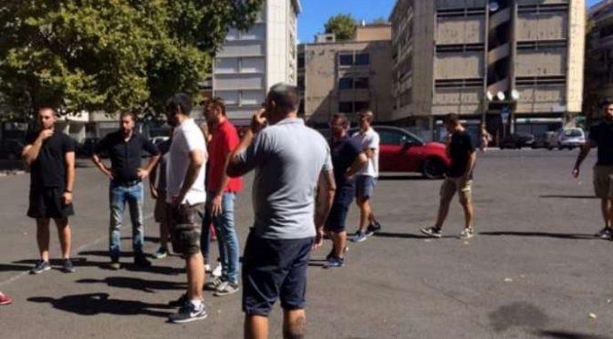 CasaPound si sostituisce ai Vigili: Ronde cacciano parcheggiatori abusivi