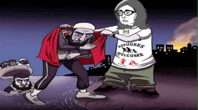 """Boldrini scherza le vittime dell'Islam: """"Cittadinanza anche a immigrati adulti"""""""