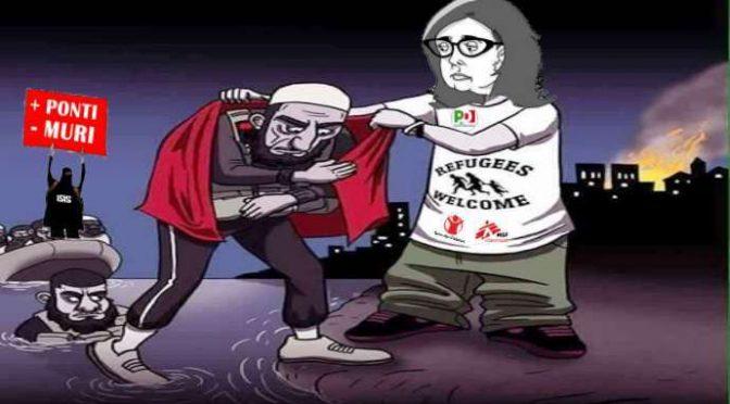 L'accusa: «Terroristi islamici amici della Boldrini ci massacrano»