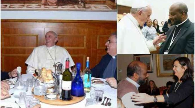 """Bergoglio difende il business: """"Migranti sono ricchezza"""""""