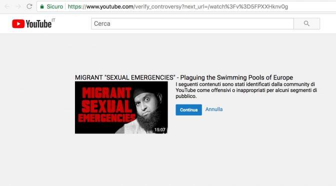 YouTube applica la Sharia e censura i video degli stupratori islamici