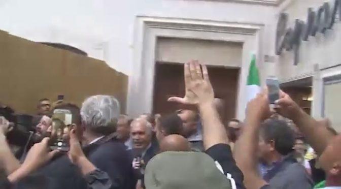 """Ultimatum del Generale a Mattarella: """"30 giorni poi scattano arresti"""" – VIDEO"""