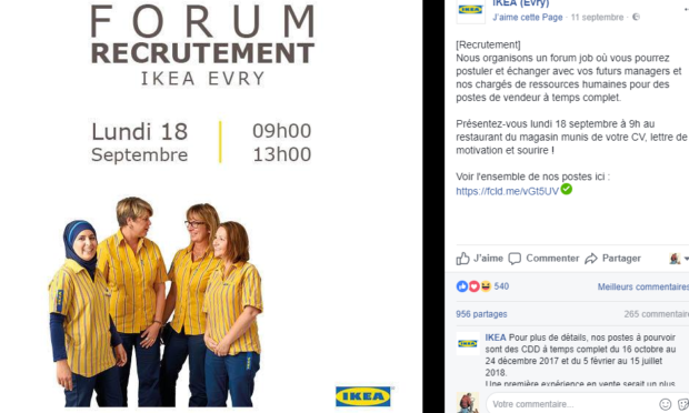 Ikea diventa halal: commesse velate – FOTO