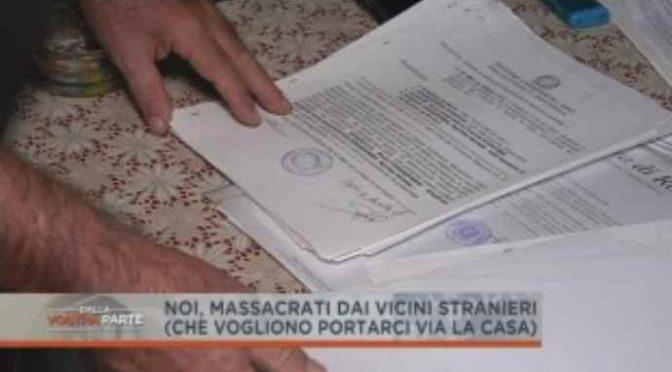 """Massacrati dai vicini immigrati: """"Vogliamo casa vostra, Italiani di merda"""" – VIDEO"""