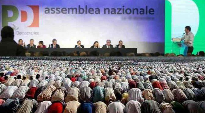 PD è partito degli Islamici: 60% Musulmani voterebbe Sinistra