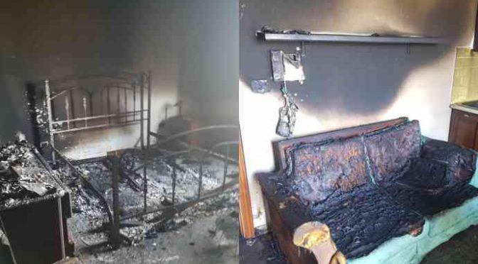 Cittadini incendiano 2 eleganti ville destinate ai profughi – FOTO