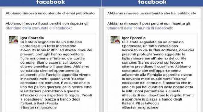 Facebook censura stupri dei profughi, rimossa notizia  – FOTO