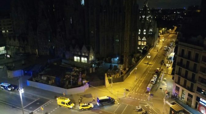 Barcellona, Sagrada Familia evacuata: falso allarme