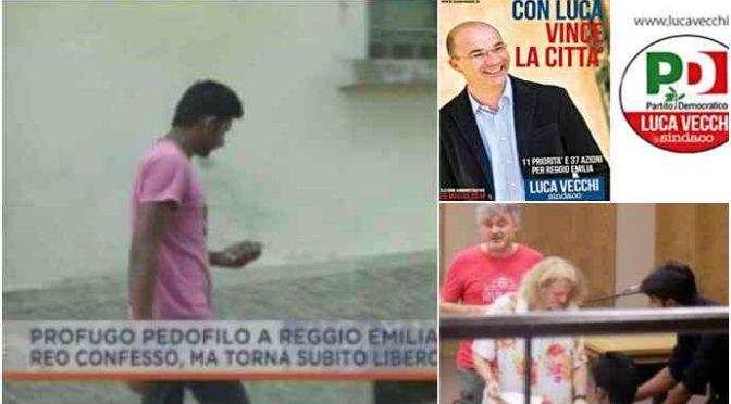 Reggio: profugo pedofilo premiato con casa comunale