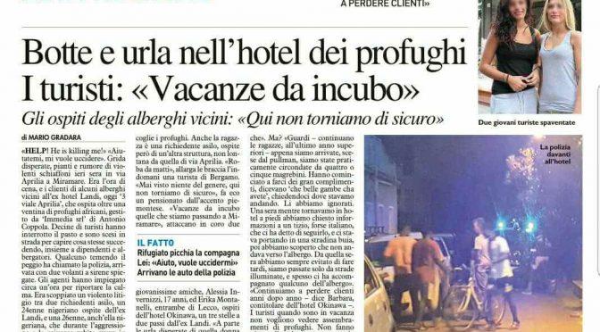 Troppi stupri e molestie, turiste in fuga da Rimini