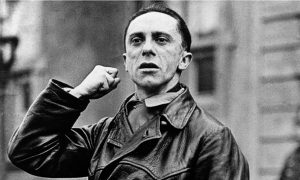 From frustrated writer to party supremo ? Joseph Goebbels.