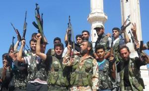Ribelli in Siria
