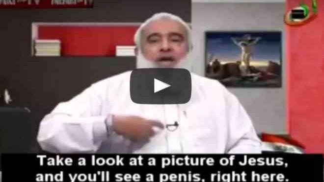 Predicatore islamico: «Il crocifisso è pornografia, le cristiane si accoppiano con animali»