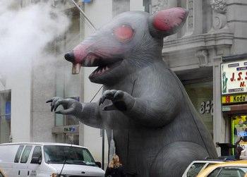 Inghilterra invasa dai 'ratti-mutanti'