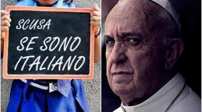 """Caritas, 70 italiani respinti: """"Accogliamo solo migranti"""""""