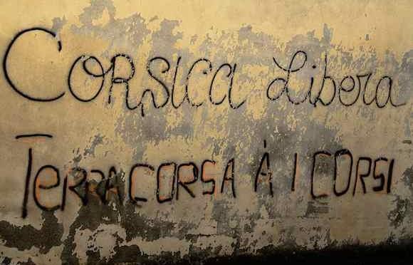 Corsica chiede nazionale autonoma da Francia