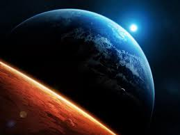 Marte, Terra e Luna allineate: e ora quattro 'Lune di Sangue'