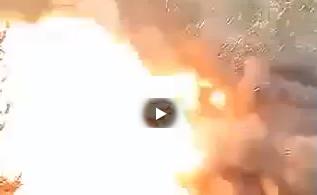 Strage di ISIS in Yemen: il momento dell'esplosione – VIDEO CHOC