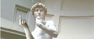 'Il David di Michelangelo non sta per crollare'