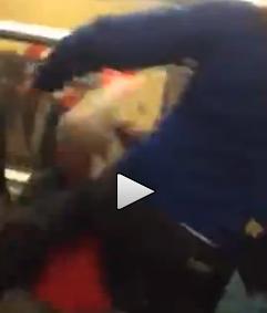 Londra: violento pestaggio in metro – VIDEO