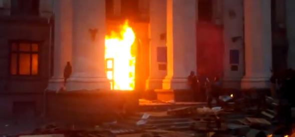Governo ucraino: russi a Odessa si sono 'auto-incendiati'