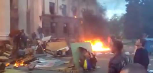 E' guerra totale in Ucraina dopo la mattanza di russi a Odessa