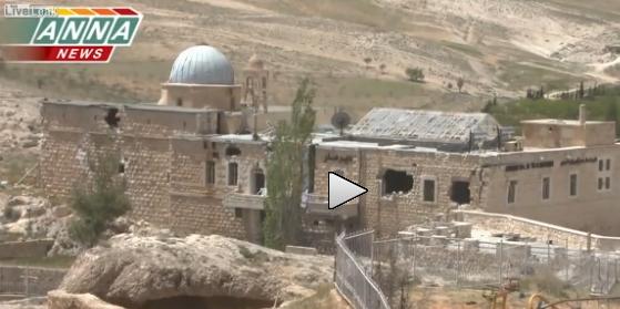 Toccante reportage dalla città cristiana liberata di Maaloula – VIDEO