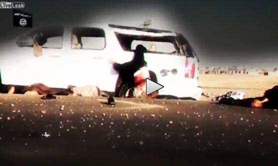 Massacro islamico lungo la strada – VIDEO