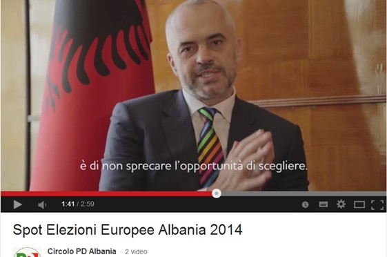 PD chiede voto albanesi: 'Votate Renzi, per il bene dell'Albania' – VIDEO