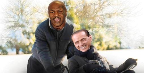 B. ha un fan, Mike Tyson: 'Mai incontrato uno come lui'