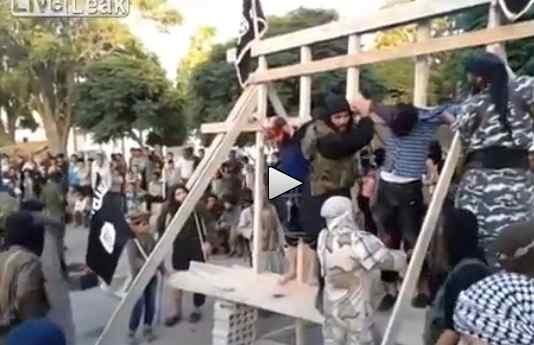 Siria: uomo 'giustiziato' di tagliagole islamici – VIDEO