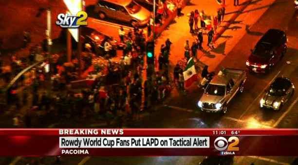 Los Angeles: festeggiamenti e disordini per passaggio turno, del Messico – VIDEO