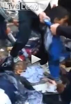 Mosul: sgozzamenti di massa, crocifissioni nella città occupata da Al-Qaida  – VIDEO SHOCK