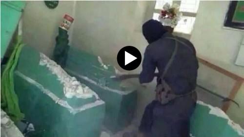 Choc: islamici distruggono tombe profeti cristiani, radono al suolo chiese – VIDEO