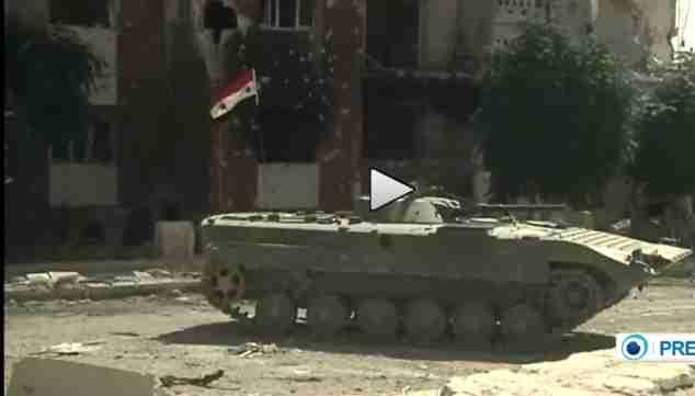 Siria: Assad riprende Adra – VIDEO