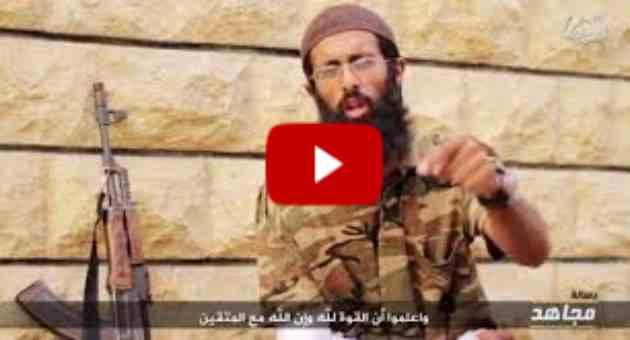 """ISIS, decapitatore mostra volto e sfida: """"Mandate soldati"""" – VIDEO"""