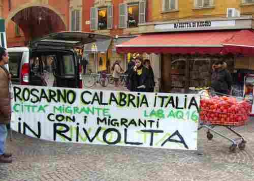 La rivolta di Rosarno organizzata dalle coop rosse e dalla 'ndrangheta?