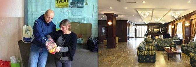 CHOC: malato di distrofia dorme alla stazione, clandestini in hotel di lusso – FOTO