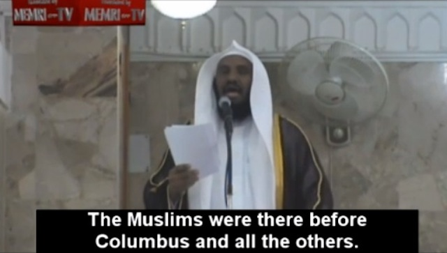 """Imam: """"Colombo andò in America a combattere islamici che erano già lì"""""""