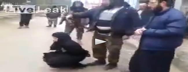 ISLAMICI DI AL NUSRA 'GIUSTIZIANO' UN'ALTRA DONNA – VIDEO