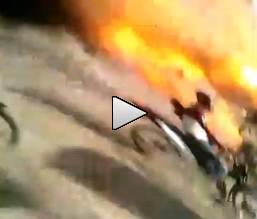 A miliziano ISIS esplode mina in mano – VIDEO
