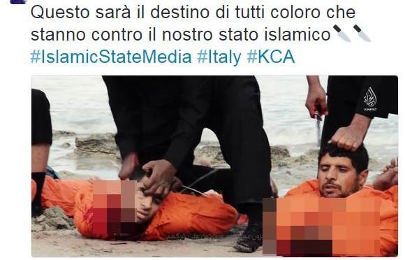 """Servizi: """"Italia a rischio attentati perché cristiana"""""""