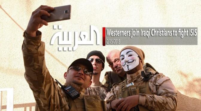 Guarda gli occidentali che si sono uniti alle milizie cristiane che combattono ISIS – FOTO – VIDEO
