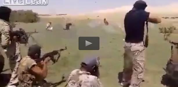 ESECUZIONE DI MASSA DI MILIZIANI ISIS – VIDEO